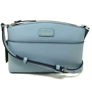 Kate Spade Grove Street Millie Blue Crossbody Bag